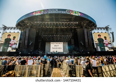 27-30 June 2019. Rock Werchter Festival, Belgium. Concert of Nothing But Thieves