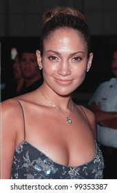 """27JUL99: Actress JENNIFER LOPEZ at the world premiere of """"The Thomas Crown Affair"""" which stars Pierce Brosnan & Rene Russo.  Paul Smith/ Featureflash"""