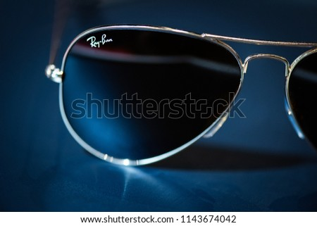e592c11d04 27th July 2018 Staffordshire Ray Ban Stock Photo (Edit Now ...