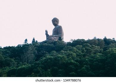 27th November 2016 - Tian Tan Buddha - The worlds's tallest bronze Buddha in Ngong Ping 360, Lantau Island, Hong Kong