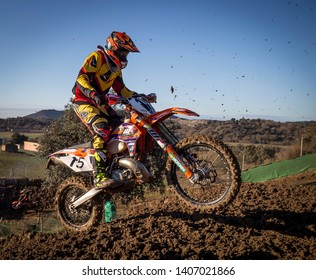 Ponts,Cataluña/España; 28 1 2018 Career of professionals of the two wheels