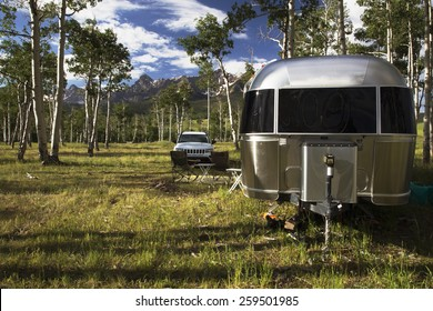 Airstream Trailer Images, Stock Photos & Vectors | Shutterstock