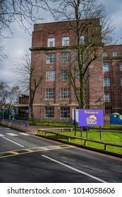 28 January 2018 The Cadbury chocolate factory Bournville Birmingham English Midlands England UK