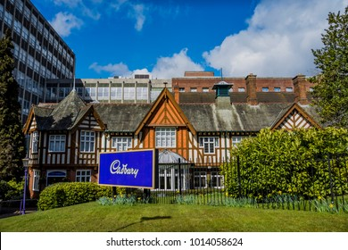 28 January 2018 The Cadbury chocolate factory Bournville Birmingham English Midlands England UK