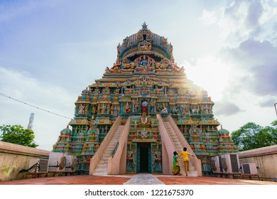 28 JUL 18 : Koodal Alagar Temple is a Main travel attraction for travellers in Madurai - Tamil Nadu, South India
