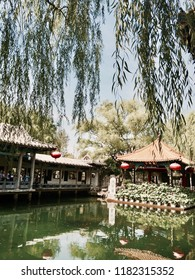 "‎⁨Jinan⁩, ⁨Shandong⁩, ⁨China⁩ - 28 June 2015: The town park of the famous ""Baotu Spring"" in Jinan."