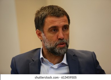 28 May 2015. Istanbul, Turkey. Hakan Sukur is a Turkish retired footballer who played as a striker.