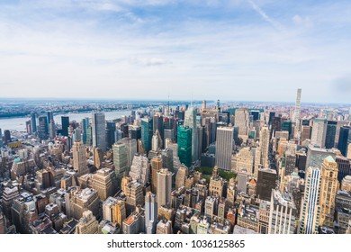 28-08-2017,newyork,usa: new york skyscraper at twilight.