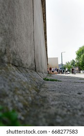 28th of June 2017 in Berlin, Germany: The Berlin Wall Memorial