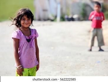29 august 2010 edirne, turkey. refugee people are living badly conditon in refugee camp edirne, weastern city edirne turkey.