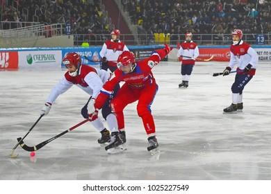 Bandy vm i moskva 2008