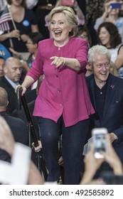 29 July 2016 - Philadelphia,PA - Secretary Hillary Clinton Democratic Presidential Nominee rally in Philadelphia.