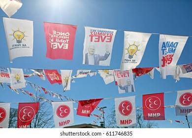 29 March 2017. Istanbul, Turkey. Elections in Turkey.