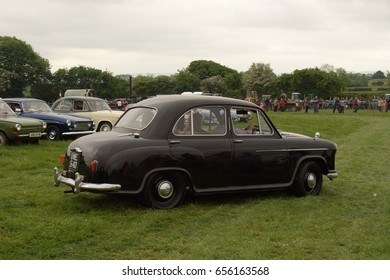 29th May 2017- A classic Morris Oxford MO being displayed at the Teifi Valley vintage show near Newcastle Emlyn, Ceredigion, Wales, UK.