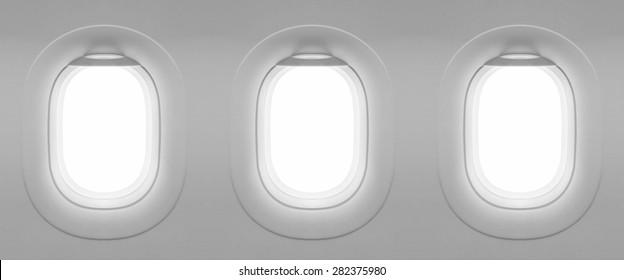 3 Blank window plane