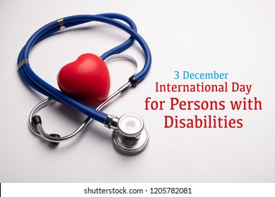 3 December, International Day for Persons with Disabilities