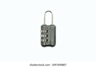3 digit luggage lock