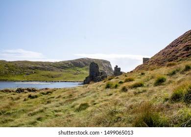 3 head castle ruins West Cork Ireland
