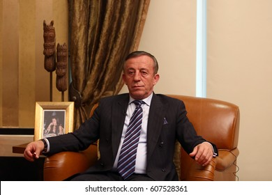 3 January 2013. Istanbul, Turkey. Ali Agaoglu is a Turkish businessman.