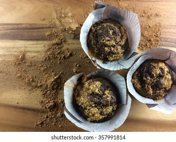 3 muffins grouped