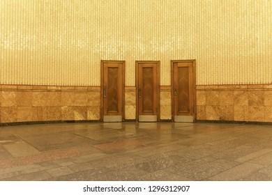 3 Mystery Doors