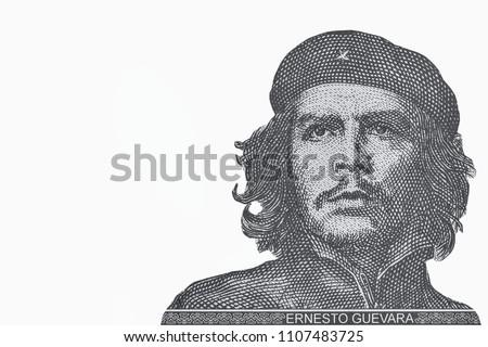 3 pesos Che Guevara