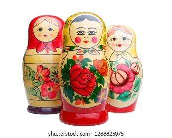 3 Russian dolls