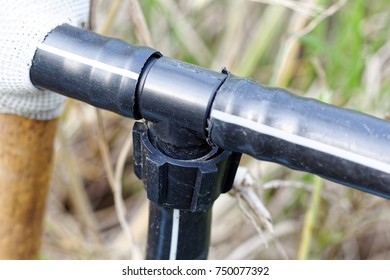 3 way connector Polyethylene (PE) pipe