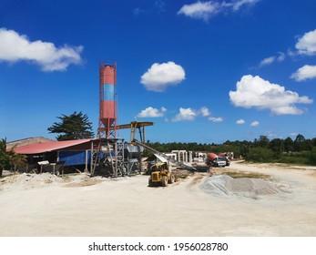 30 Dec 2019- Tumpat, Kelantan. Industrialised building system (IBS) factory for housing and building construction.