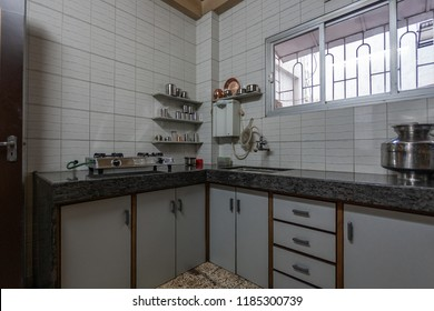 Middle Class Kitchen Interior Stock Photos Images Photography Shutterstock
