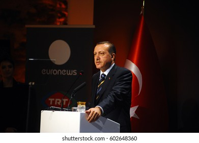 30 January 2010. Istanbul, Turkey. Recep Tayyip Erdogan is a Turkish politician who has been the President of Turkey.
