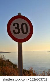 30 kilometers per hour speed limit