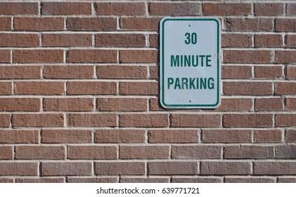 30 Minute Parking