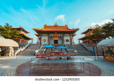 30 Nov 2018 : Thailand Wat Boromracha Kanchanapisek Anusorn (or Wat Leng Noei Yi 2) is a Chinese temple under the patronage of the Chinese Buddhist Sangha in Thailand or Mahayana Buddhism.