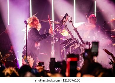 30 October 2018. Melkweg, Amsterdam. Concert of Hayley Kiyoko