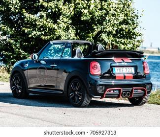 30.08.2017 Mini Cooper S Cabrio John Cooper Works photo shoot for editorial use.