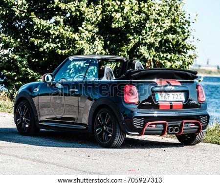 30082017 Mini Cooper S Cabrio John Stock Photo Edit Now 705927313