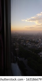 from the 30th floor of the baywalk apartment