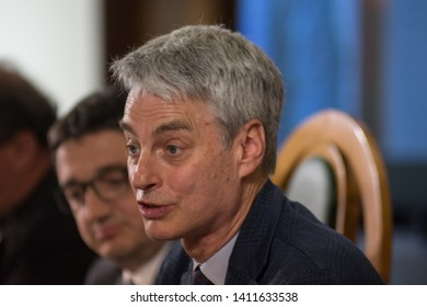 30th May 2019, Trento, Italy; Festival dell' Economia - Trento 2019; Paolo Collini attend during Festival dell' Economia Inauguration in Trento on May 30, 2019.