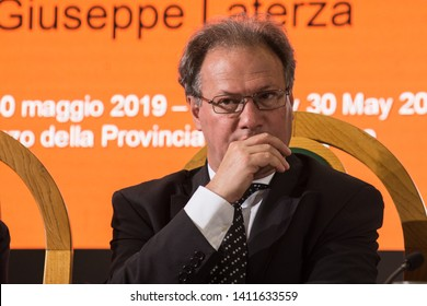 30th May 2019, Trento, Italy; Festival dell' Economia - Trento 2019; Alessandro Andreatta attend during Festival dell' Economia Inauguration in Trento on May 30, 2019.