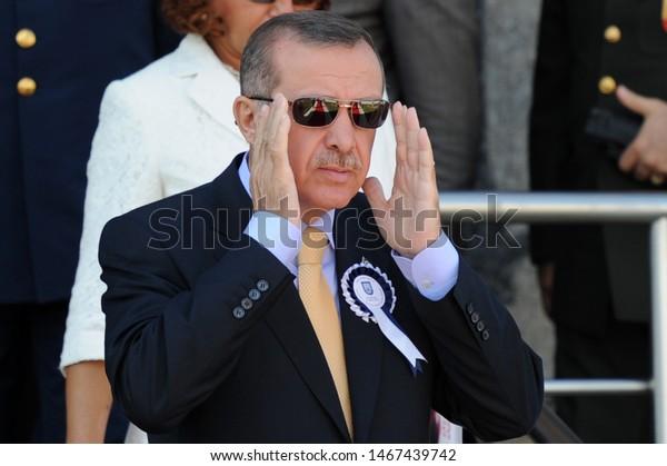 31 August 2012. Istanbul, Turkey. Recep Tayyip Erdogan 12th President of Turkey.