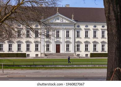 31 March 2021 Bellevue Palace, the presidential palace in Berlin, Germany