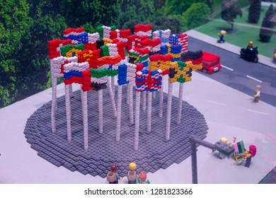 Lego Flag Images Stock Photos Vectors Shutterstock