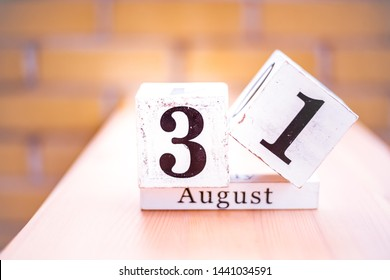 31st of August - August 31 - Birthday - International Day - National Day