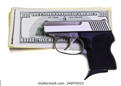 32 caliber stainless steel semi automatic pistol for concealed carry and personal protection guarding American Money