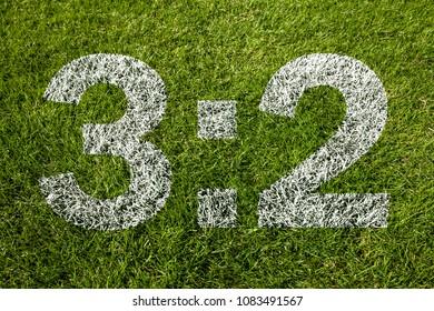 3:2 on soccer meadow