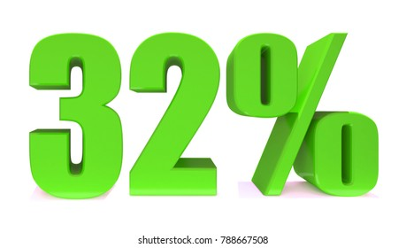 32 Percent off 3d Sign on White Background, Special Offer 32% Discount Tag, Sale Up to 32 Percent Off,big offer, Sale, Special Offer Label, Sticker, Tag, Banner, Advertising, offer Icon