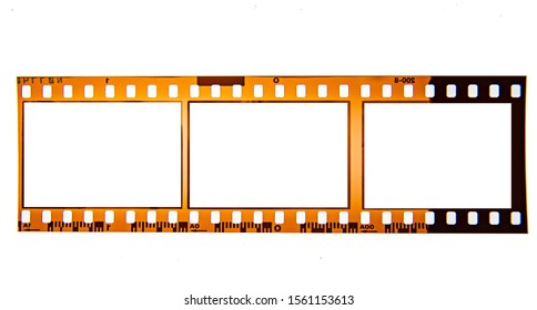 (35 mm.) film frame With vintage space.