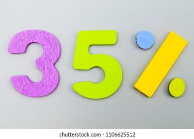 35 percent discount.Big sales 35%