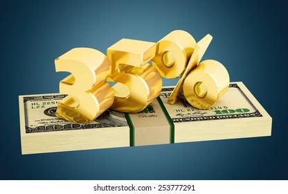 35% - savings - discount - interest rate